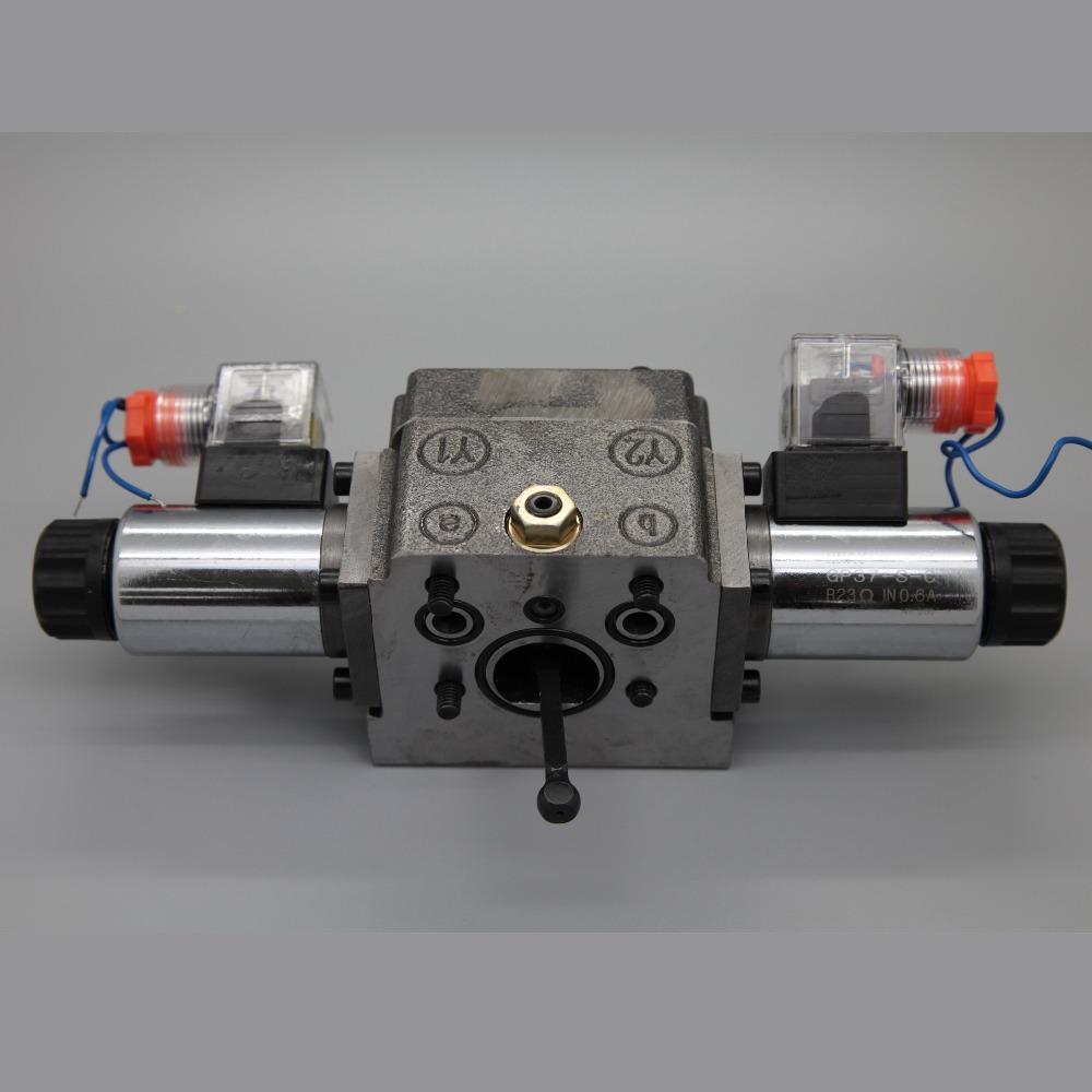 Rexroth A4VG125 electrical control valve for roller excavator mixer concrete pump hydraulic piston pump spare parts