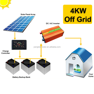 CE ISO UL Approved 4kw storage battery for solar system