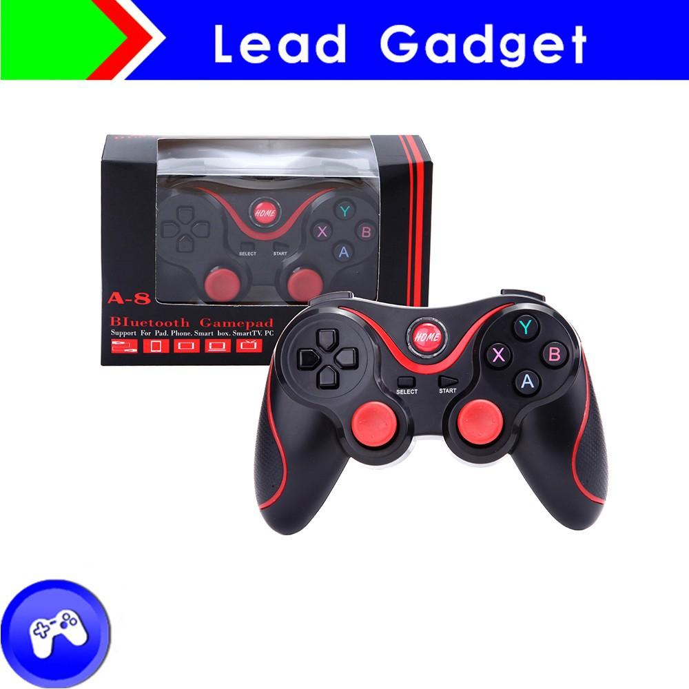 Android Multimedia Bluetooth Wireless Game Controller,Android Compatible Gamepad Game Console Game Controller Bluetooth Support