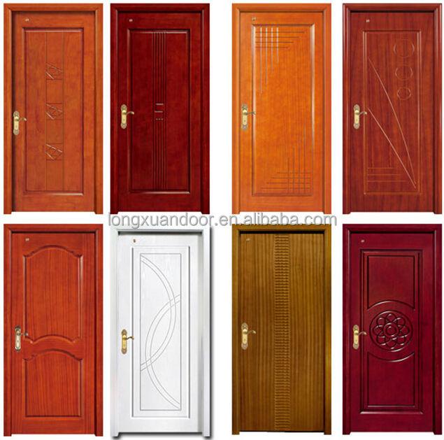 Modernos dise os de puerta de madera s lida puerta de for Modelos de puertas de madera para recamaras
