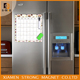 Hot sell custom erasable 3D calendar barcelona Egypt fridge magnet