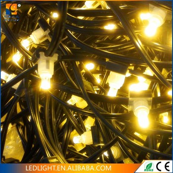 Transformer 12v Pvc Green Cable Waterproof Ip 44 Led Clip Bud Light Tree Decoration Holiday With