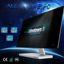 22 inch Latest Desktop Computers I3 6100 quad core All-in-one PC Office Computer