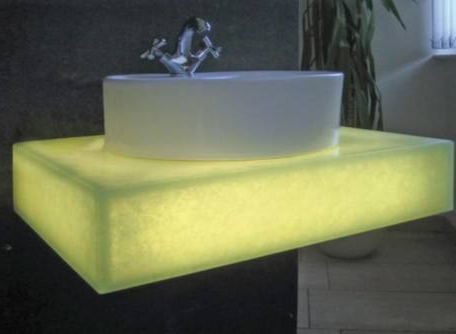 Pure acrylic solid surface corian shop display counter