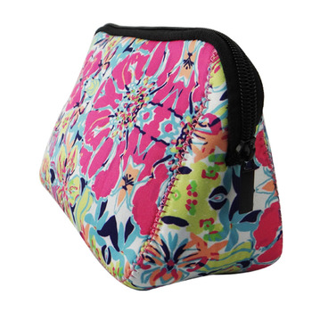 Monogram Cosmetic Bag Lilly Pulitzer Makeup Pouch
