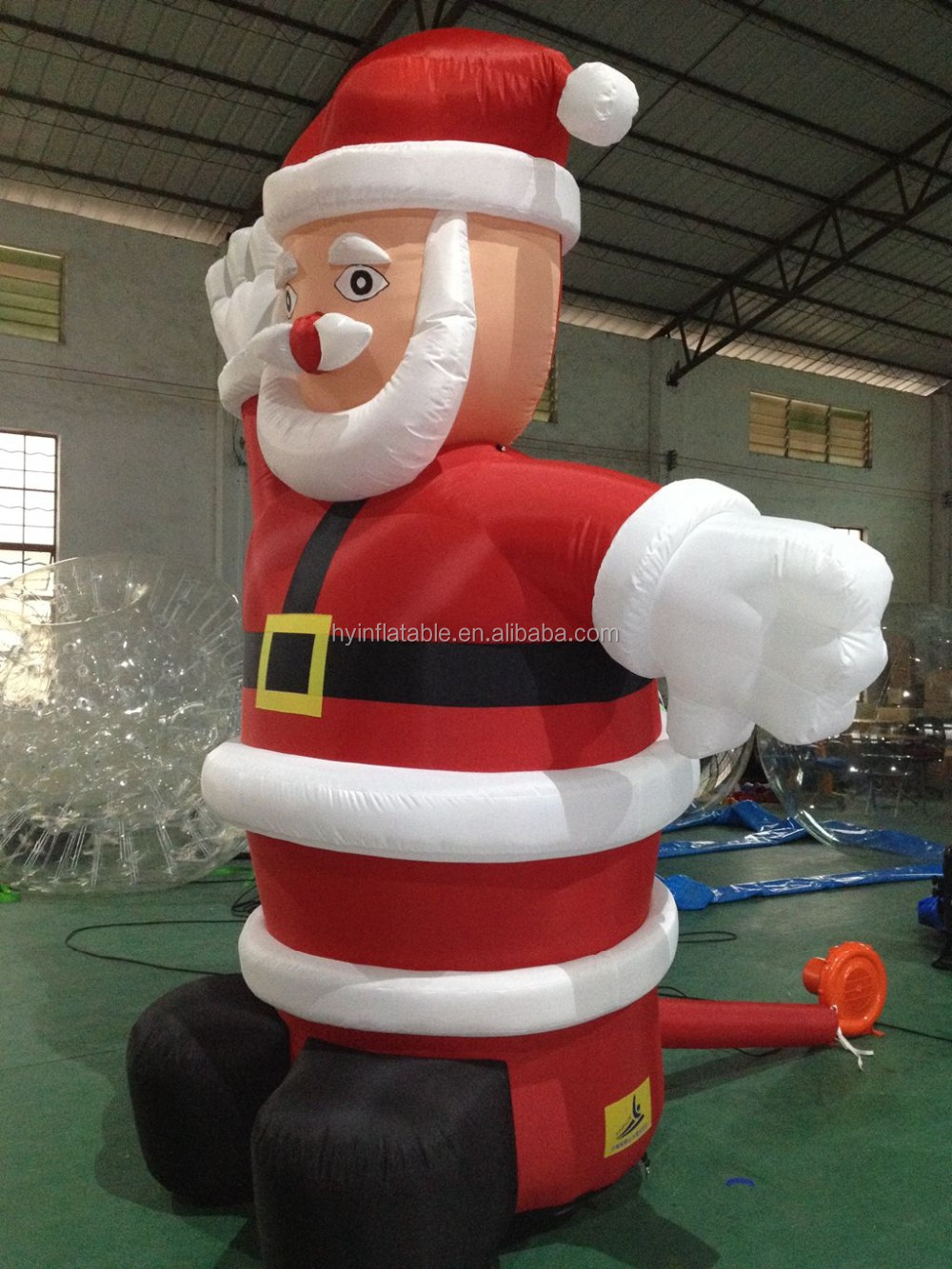 Giant ft christmas inflatable santa for outdoor