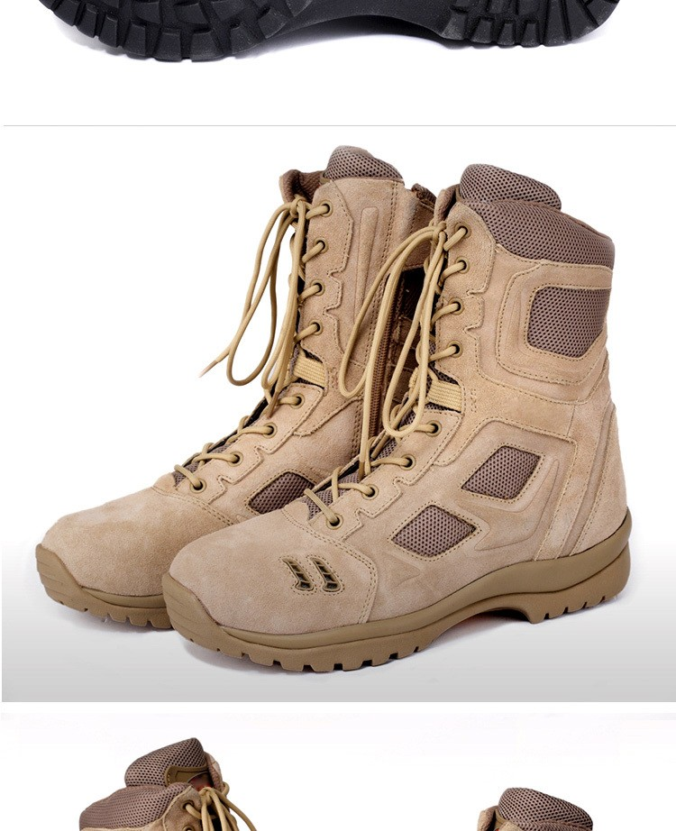 aed6a0ef74 Brand Military Tactical Boots Desert Combat Outdoor Army Hiking Travel  Botas Shoes Leather Autumn Ankle Men Boots Male, View boots leather boots  ...
