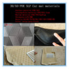 car accessory PU material HD and LD plastic materials 2014 factory hot selling pvc car mat raw material
