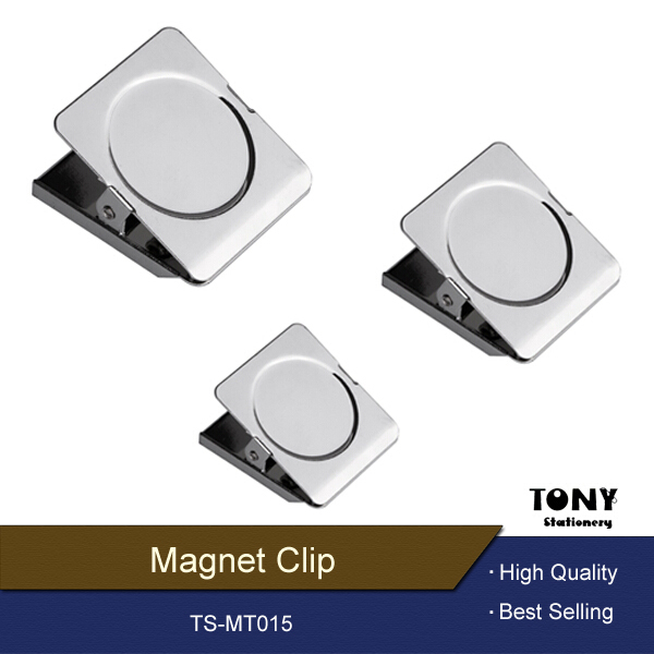 Round Stainless Steel Strong Fridge Magnet Paper Clips - Buy ...