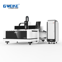 G.weike Laser 1000w 3000w Sheet Metal Fiber Laser Cutting Machines Laser Cutter