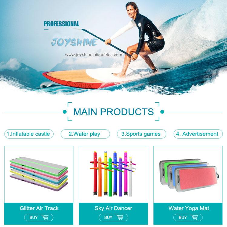 Windsurf Stand Up กู้ภัย Paddleboard Aqua Marina Inflable สีฟ้าบอร์ดพับได้ Inflatable SUP Paddle Board