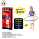 Factory wholesale kid toys plastic hula hoop for kid exercise sport toys