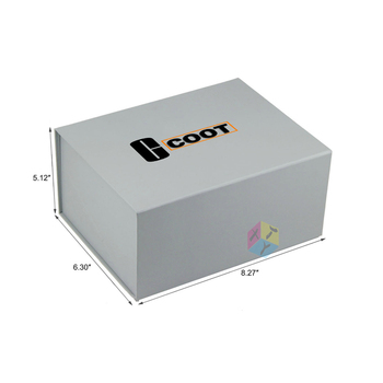 luxury paper apparel foldable box packaging