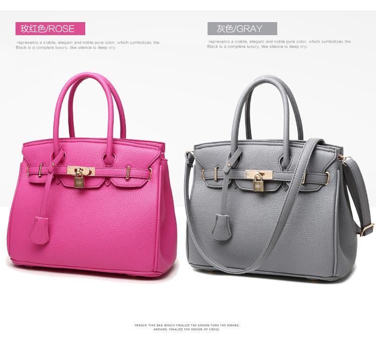 eda237bd596 2019 China Wholesale Guangzhou supplier custom fashion luxury brand classic  pu Leather women handbags of ladies