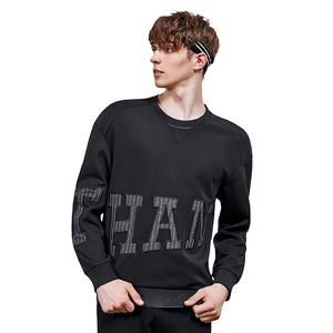 No Pocket Long Sleeve Mens Shirt Casual Sports Tops Wholesale Crewneck Sweater Shirts