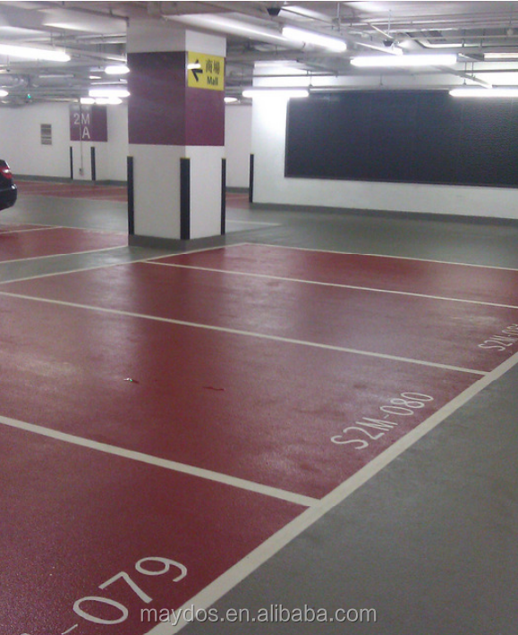 Maydos Car Parking Epoxy Resin Floor Paint Colors On Concrete Floor