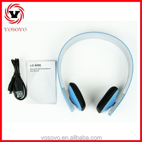 Lc-8200 Made In China Bluetooth Headset External Wireless Speaker ...