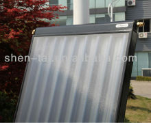 Vacuum Tube U Heat Pipe Flat Panel Solar Collector With CPC Reflector and Tempered Glass Cover SPV1.7