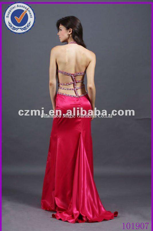 Moldes de vestidos de fiesta sin espalda