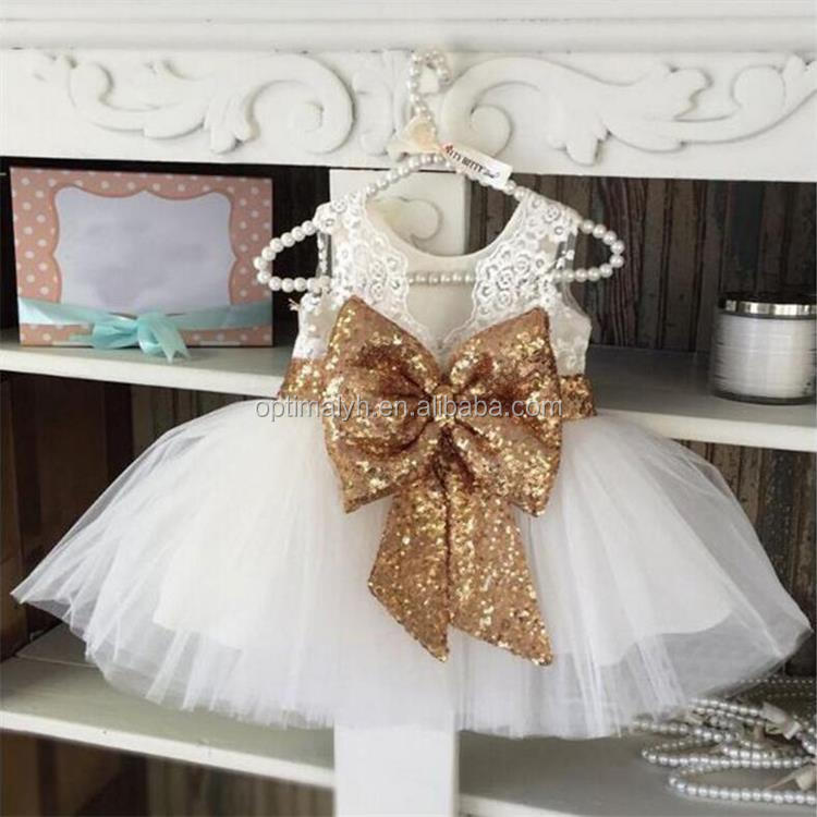 Sparkle Dresses Paillette Little Girls Wear Kids Clothes Girl Sequins Summer Boutiques Girl Party Dress