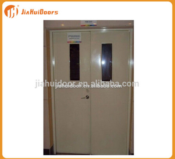 Steel fire door with panic push bar and glass insert buy fire steel fire door with panic push bar and glass insert planetlyrics Gallery