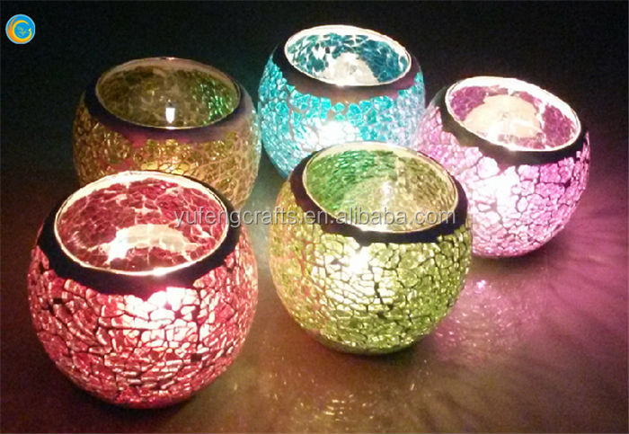 Handmade craft from waste mate candle holder buy for Craft ideas using waste materials