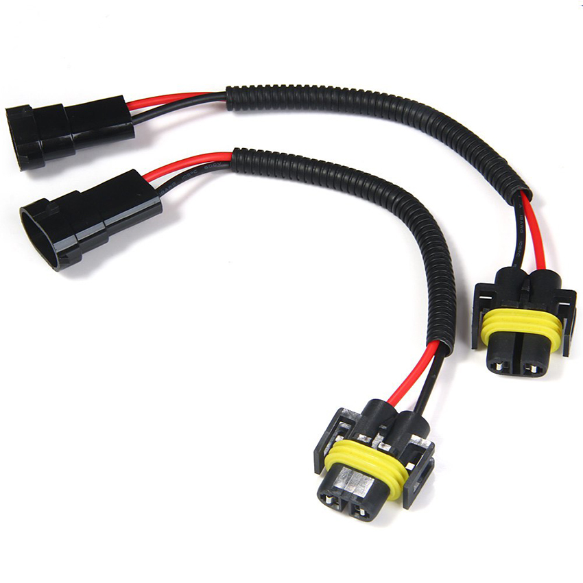 Car 6-24V trailer light wire harness 18 awg flat wire connector 90cm