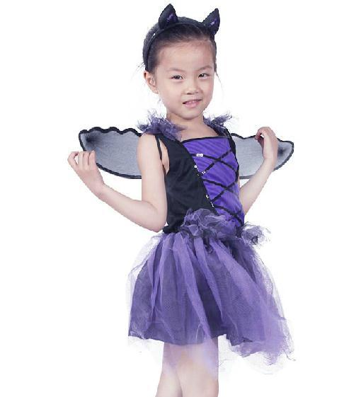 Get Quotations · Halloween kids costume play clothes the childrenu0027s Purple bat suit fairy kids costumes  sc 1 st  Alibaba & Cheap Kids Costumes Fairy find Kids Costumes Fairy deals on line at ...