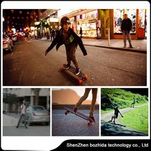 one/two power brushless motors scooter different board cool picture design 4 wheels remote control skateboard