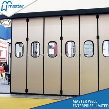 Subway Industrial Folding Garage Door / Warehouse Folding Door - Buy ...