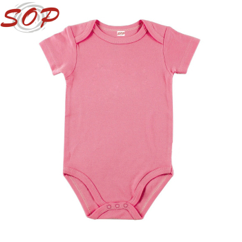 5ef3b1ed326f Wholesale Customized OEM Baby Product Clothes Infant Plain bamboo onesie