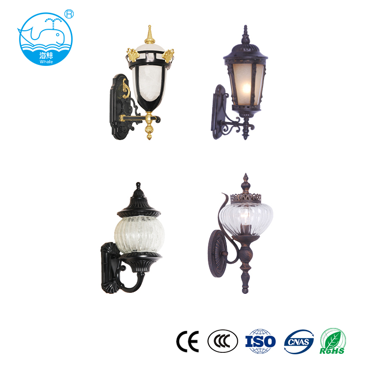 Hotel room wrought iron wall light wall lamp for bedroom