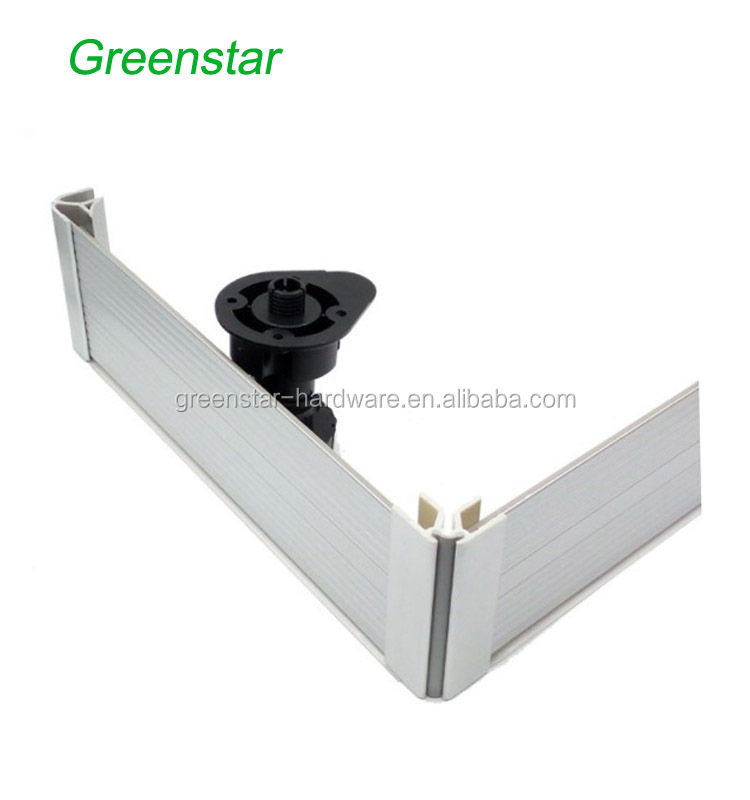 Download Wallpaper White Kitchen Plinth Joints