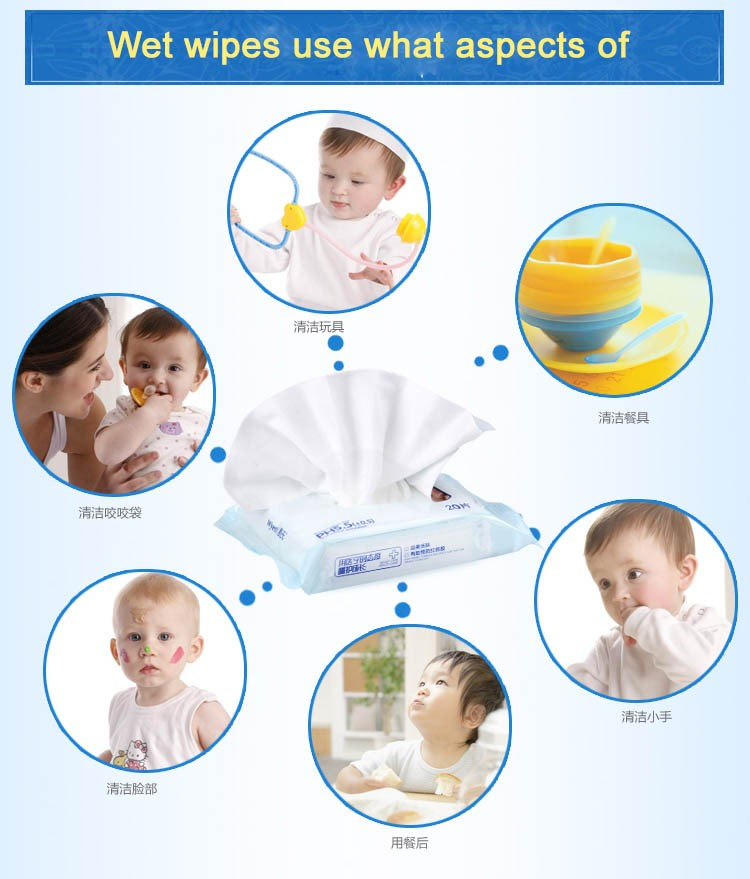 Product Test Tissue Dry Baby Plus