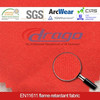 Red 210GSM Aramid Inherently Flame Retardant Fabric