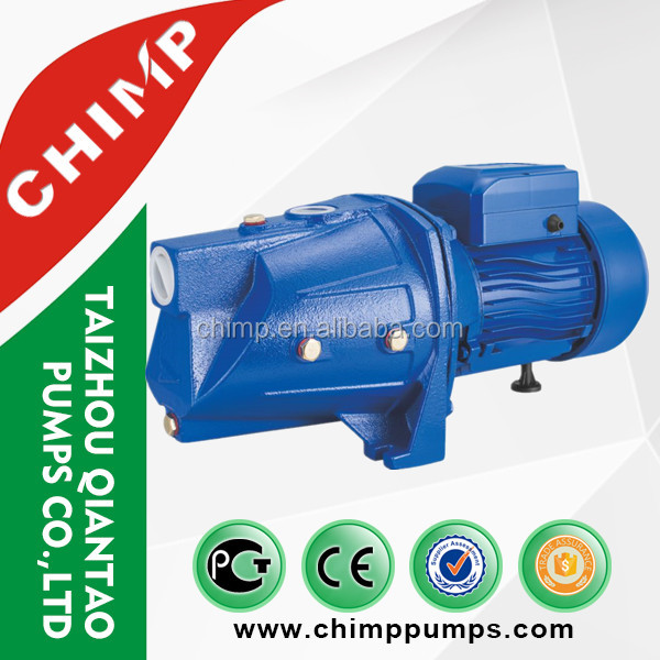 CHIMP hot selling 1.0hp self-priming jet pump domestic surface clean water booster pump