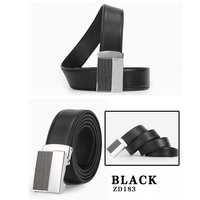 Dante Men's Leather Belts with Removable Smart Buckles