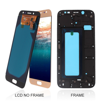 Super OLED mobile phone lcds j7 pro 2017, For Samsung galaxy j7 pro J730 pantallas de celular