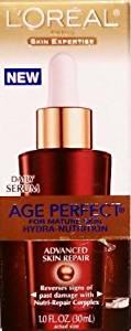 Loreal Age Perfect for Mature Skin Hydra-nutrition Advanced Skin Repair Daily Serum 1 FL OZ.