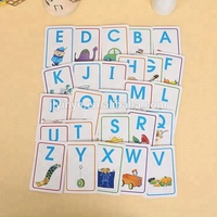 Alphabet Initiation Fancy Memory Card Innovation Flash Cards