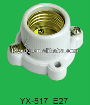 E27 517 Porcelain Fluorescent Lamp Holder