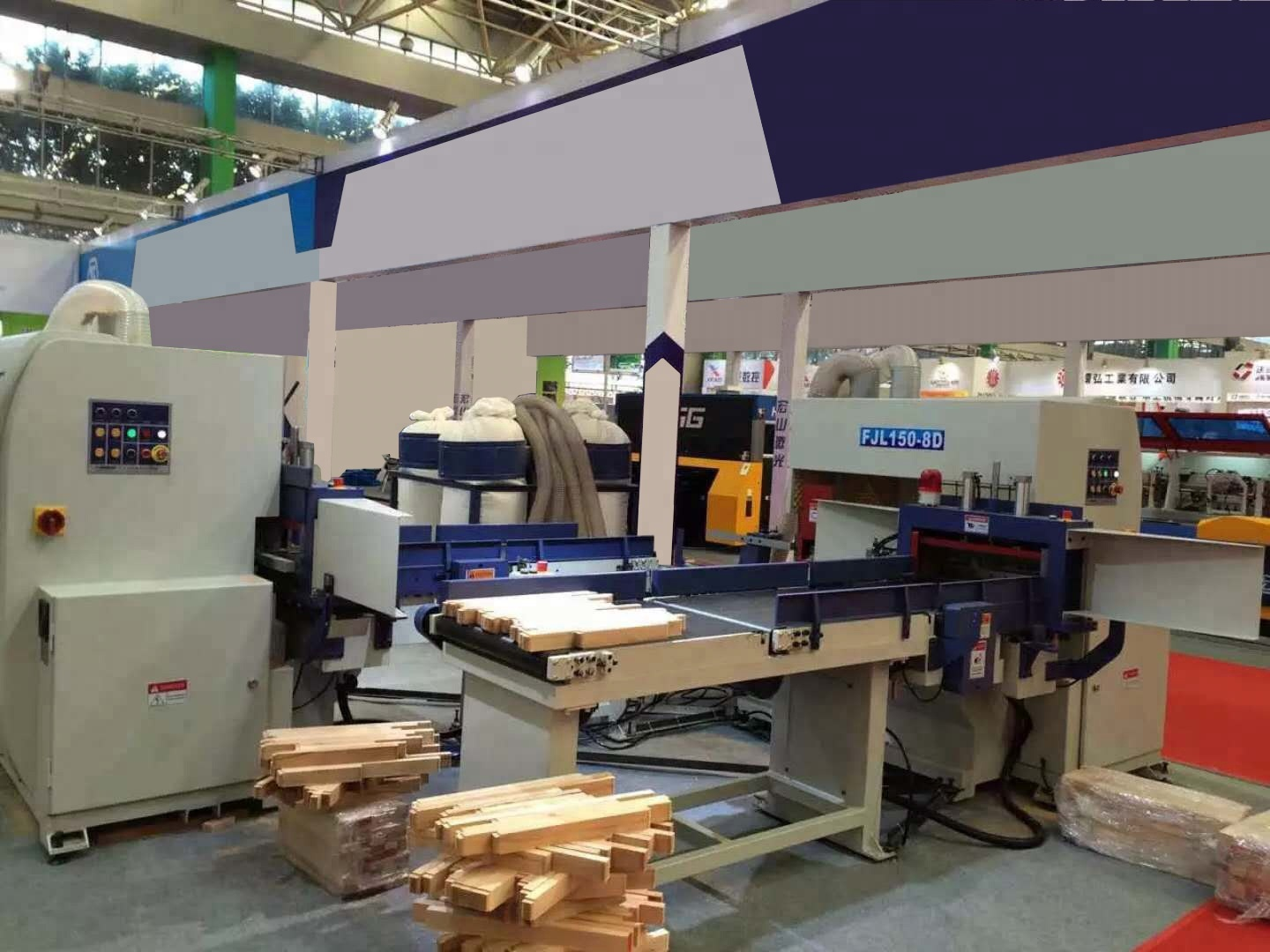 FJL150-8A Full Automatic Finger Jointing Line(Motor-Driven) 6m