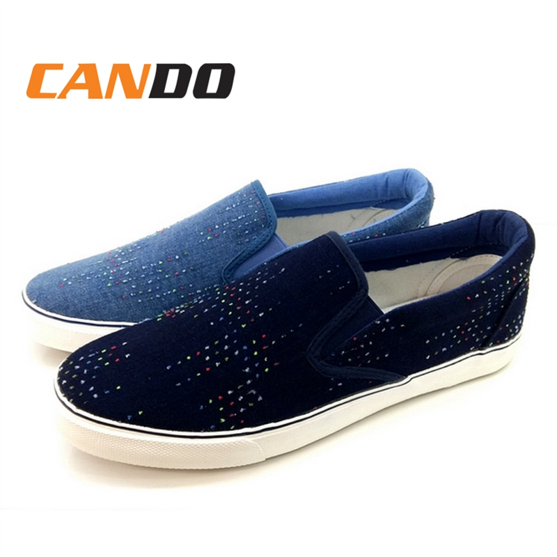 Plain Mens Mens Canvas Sneakers Low Top Trainers Vulcanized shoes