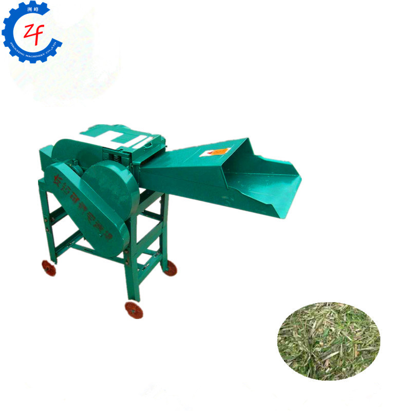 Grass cutting machine for dairy farm, small hay chopper