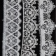 Vintage Tulle Mesh Lace Embroidery Flower Lace Trim DIY Trimming Lace For Hair Bows