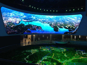 Shanghai factory ali led indoor display full color vedio