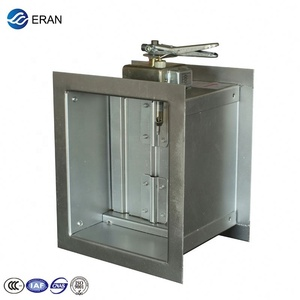 manual butterfly hvac dampers