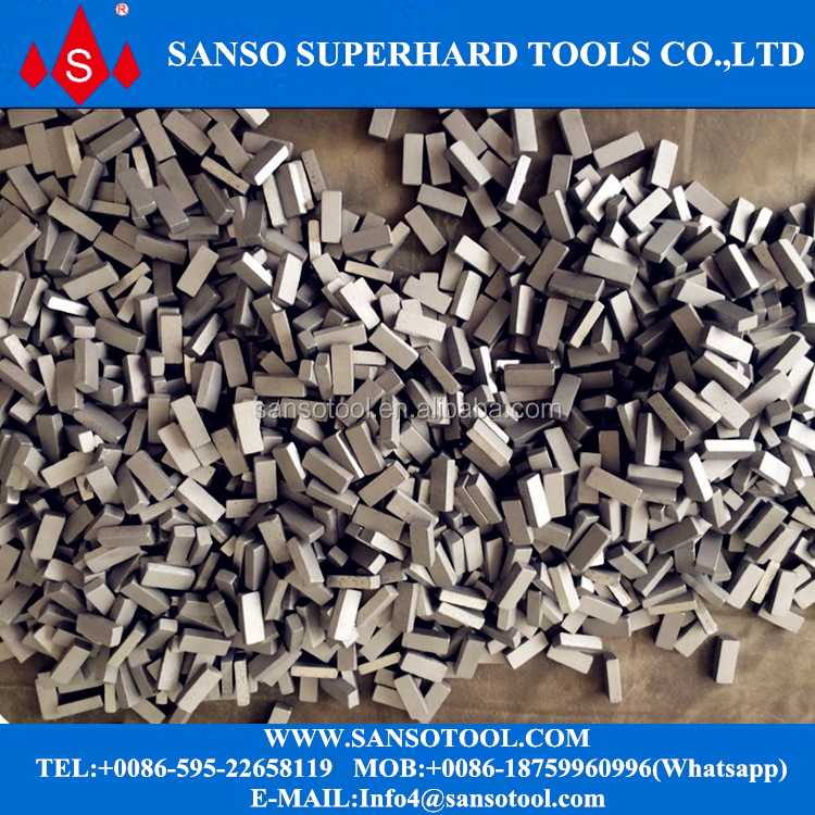 Marble Cutting Diamond Gangsaw Segments for Cutting Block Gang Saw Blades Segments