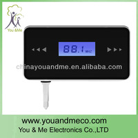 wholesale wireless Car bluetooth FM Transmitter with 3.5mm Audio Jack