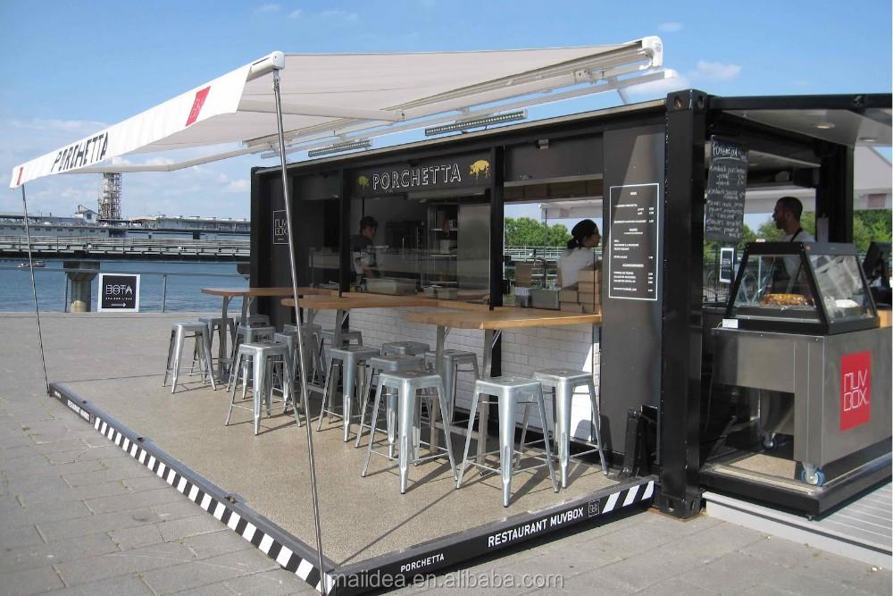 Benutzerdefinierte Outdoor Küche Transportbehälter Restaurant Für ...